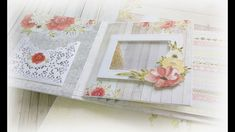 Album Always Together cz. 2 - ramka shaker i inne /TUTORIAL 3d Cards, Stampin Up Cards, Grow Old With Me, Tag Design, Mini Albums, Wedding Albums, Scrapbooking, Youtube, How To Make