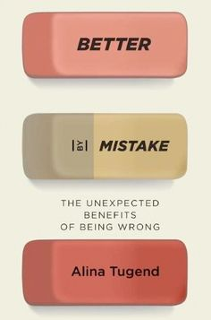 """She writes, """"Most Americans absorb a culture of mistake-evasion virtually from birth, but the cost is high.  By avoiding errors we stifle creativity, innovation, and the ability to grow and learn in all walks of life."""""""