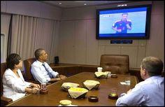"Twitter / ""kwonjiyar: ""[@]FIFAWorldCupTM: Barack Obama watching USA vs Germany on board Air Force One."" - 26 Jun 2014  #worldcup2014 #USAvsGER"