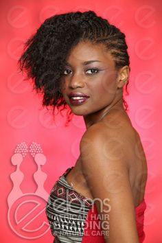 Eloms – African-Hair-Braiding-Design-Corn-Row-Mohawk- Natural hair styles - Protective styling - Professional black hair styles