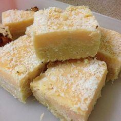 Paleo Lemon Slice #justeatrealfood #thefolksylife