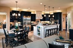 LOVE this kitchen by Toll Brothers