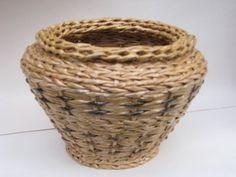 Послойное плетение из газет. Часть 1