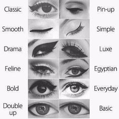 #Classic #pinup #smooth #simple #drama #luxe #feline #Egyptian #bold #everyday #doubleup #basic #eyesclosed #eyeliner #blackandwhite #bandw #eye #eyes #eyeliner #mascara #myfavorite #Egypt #different #tryit #try #different #makeup #makeuplovers...