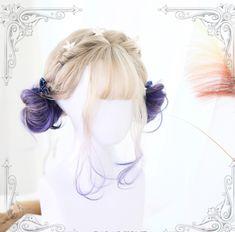 Kawaii Lolita wig with short curls men toupee women toupee Kawaii Hairstyles, Pretty Hairstyles, Cute Hairstyles, Curly Haircuts, Medium Hairstyles, Braided Hairstyles, Wedding Hairstyles, Kawaii Wigs, Lolita Hair