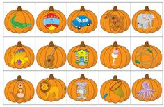 Matching beginning sounds/letters with a pumpkin theme! Love this for the kinders for fall! Kindergarten Language Arts, Kindergarten Centers, Kindergarten Phonics, Kindergarten Reading, Halloween Activities, Autumn Activities, Alphabet Activities, Preschool Activities, Reading Activities