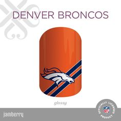 NFL Collection by Jamberry #DenverBroncos #Broncos #nfl #football #nflmani…