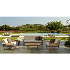 Point Lineal Outdoor Loungegruppe