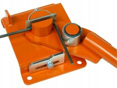Giętarka do prętów strzemion drutu fi 5320192914 - Allegro. Sheet Metal Brake, Ikea Bar, Metal Bending Tools, Tool Cart, Welding Tools, Metal Working, Concrete, Gadgets, Technology