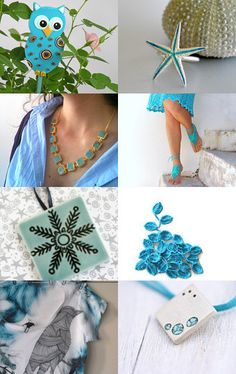 love the necklace Hanukkah, Wreaths, Turquoise, Fun, Etsy, Collection, Home Decor, Decoration Home, Room Decor