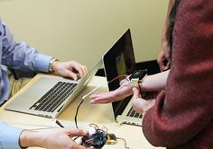 Wristify thermoelectric bracelet is a personal heating/cooling device that you can wear on your wrist. This gadget is still in development, but the engineers at embr labs are hard at work making their award-winning prototype (they took home first place at MIT'sMADMEC competition) into a reality.