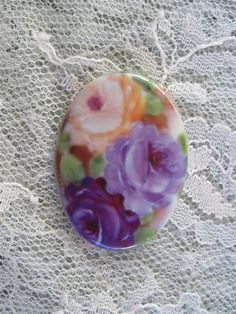 Soft Lavender Purple and Yellow RosesFine by mosaicsbyshell, $3.25