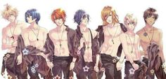 Uta no prince sama ~~ Half-naked, yet 2000% hot! STARISH