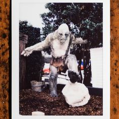 Ambushed by a troll at Weta Cave  #lotr #weta #wetacave #troll #wellington #wellingtonnz