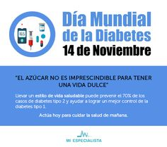 #DíaMundialDiabetes #14denoviembre