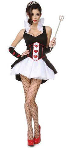 Queen of Hearts Costume - Halloween Costumes