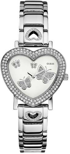 Best offer with Directbargsins.com.au. Guess U11642L1 Ladies Watch price in Australia: AUS $173.77 And Save your : $43.44 Shipping  $14.95 Cute Watches, Casual Watches, Watches For Men, Wrist Watches, Tear, Quartz Watch, White Leather, Rolex Watches, Jewels