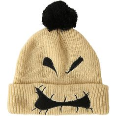 The Nightmare Before Christmas Oogie Boogie Pom Beanie Hot Topic ( 10) ❤  liked on ef4ded44b88d