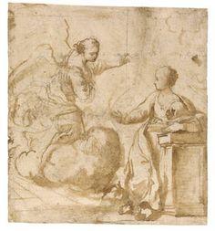 Anunciación - Faccini, Pietro (Atribuido a)