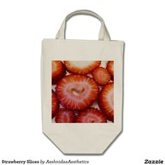 Our Strawberries tote bags are great for carrying around your school & office work, or other shopping purchases. Reusable Tote Bags, Canvas, Tela, Canvases, Burlap