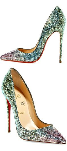 Christian Louboutin ~ 'So Kate' Pointy Toe Pumps, Multi-color 2014