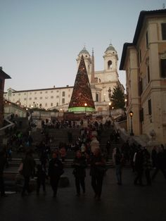 The Spanish Steps. Rome, Italy.