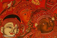 beautiful kerala Mural