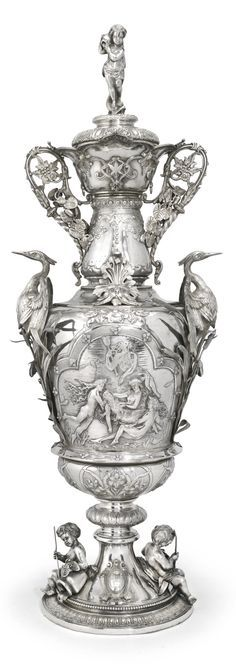 victorian silver throphy | Large Victorian Silver Trophy cup and cover, Stephen Smith for Stephen ...