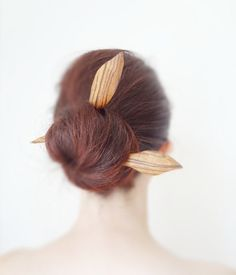 zebra wood abstract modern flower wood double by theancientmuse, $27.00