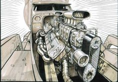 Mad Max Fury Road Concept Art Peter Pound (24)