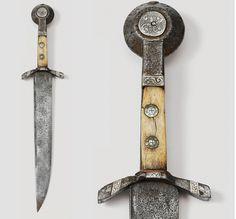 Dagger knife, Swiss, 14th century