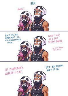 dating a team skull grunt