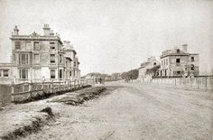1880 Heene Road History Photos, Local History, Old Photos, Beautiful Homes, Past, Worthing, England, Places, Terrace