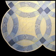 Amish Quilts :: Double Wedding Ring - Quilts | Handmade Amish Quilts