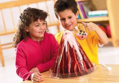 Learning Resources Erupting Volcano Model, Fun Science Learning, Homeschool, Cross-Section Model with Foaming Lava, Ages Easy Science Experiments, Science Fair, Earth Science, Science And Nature, Volcano Model, Les Inventions, Volcano Projects, Erupting Volcano, Homeschool Supplies
