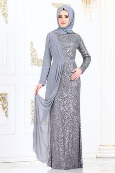 Modest Fashion Hijab, Abaya Fashion, African Fashion Dresses, Muslim Fashion, Dress Brokat Muslim, Dress Pesta, Kebaya Dress, Hijab Prom Dress, Hijab Evening Dress