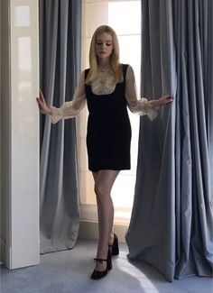 Picture of Elle Fanning Ellie Fanning, Dakota And Elle Fanning, Fanning Sisters, Cute Fashion, Fashion Beauty, Fashion Outfits, Women's Fashion, Gamine Style, Soft Gamine