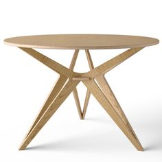 Unto This Last, Brick Lane, London: plywood table