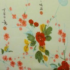 Yellow Asian Cotton Knit Fabric