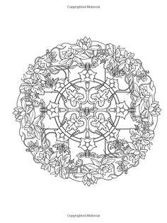 nature mandalas coloring book dover publications icolor mandalas 600x800