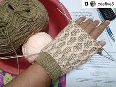 I  the colours @ceefive5 chose for this test knit  and she's right this pattern would make an excellent pair of fingerless mitts.  #Repost @ceefive5  #TestKnitting this #beachballsocks #design for @knitalot924 in progress. Looks good for a pair of #gloves too! I wonder if there are other #sock #handknitters from the #Philippines because I have yet to know any.