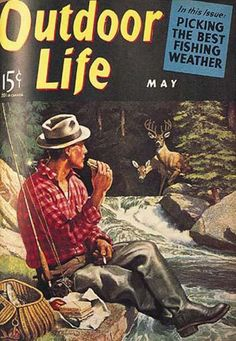 Outdoor Life Magazine Cover Art