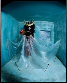 tim walker captures the surreal majesty of tilda swinton | look | i-D