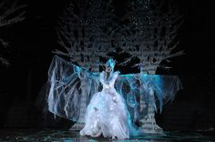 Su Blackwell's set design for The Snow Queen at the Rose Theatre.
