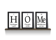 Home Periodic Table Framed 3 Piece Wall Plaque Set on Etsy, $30.00