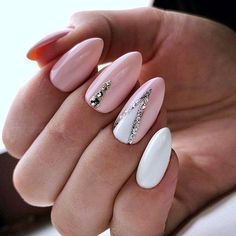 The Best Nail Art Designs – Your Beautiful Nails Line Nail Designs, Elegant Nail Designs, Acrylic Nail Designs, Acrylic Nails, White Nail Art, White Nails, White Art, Classy Nails, Simple Nails