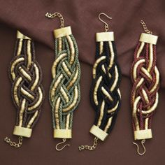 NEW On the Ropes Braided Bracelet - Multiple Colors www.TheConsignmentBag.com Shipping Fabulous Worldwide!