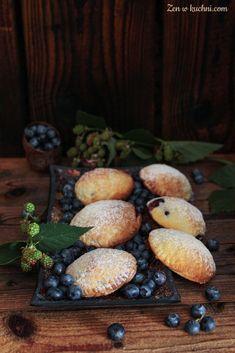 Kruche ciasteczka z borówkami - Zen w kuchni
