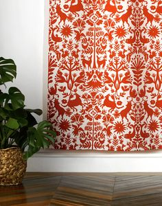 Otomi (Red) Fabric