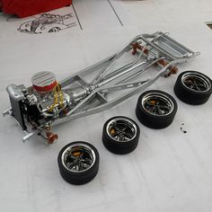 Hot rod frame model in the works.